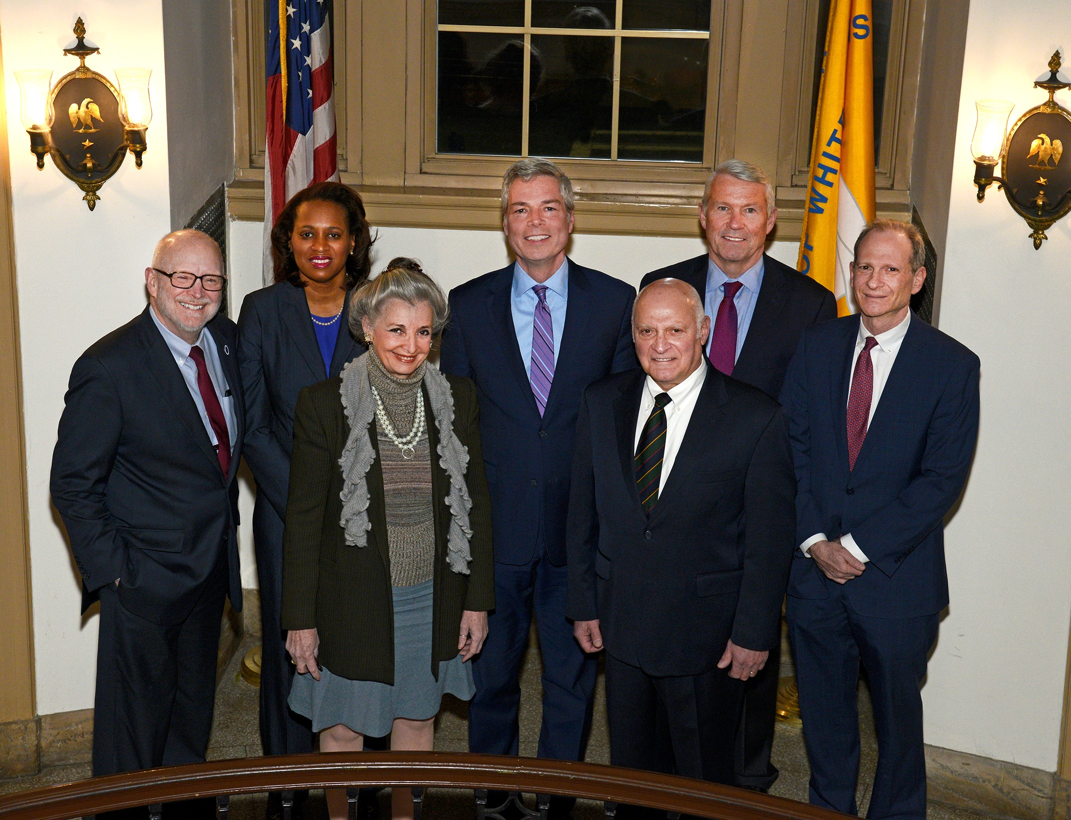 Seven members of the Common Council