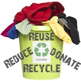 Reuse, Reduce, Donate, Recycle