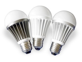 Three LED Light bulbs