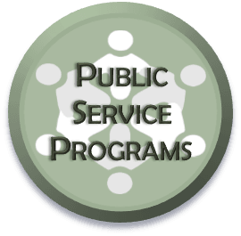Public Service Programs Select-able Icon