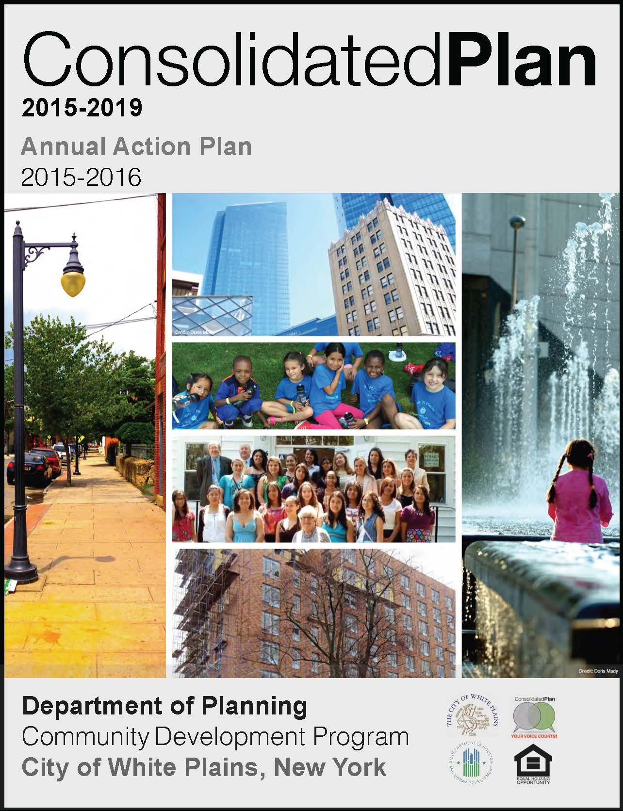2015-2019 Consolidated Plan Select-able Report Cover