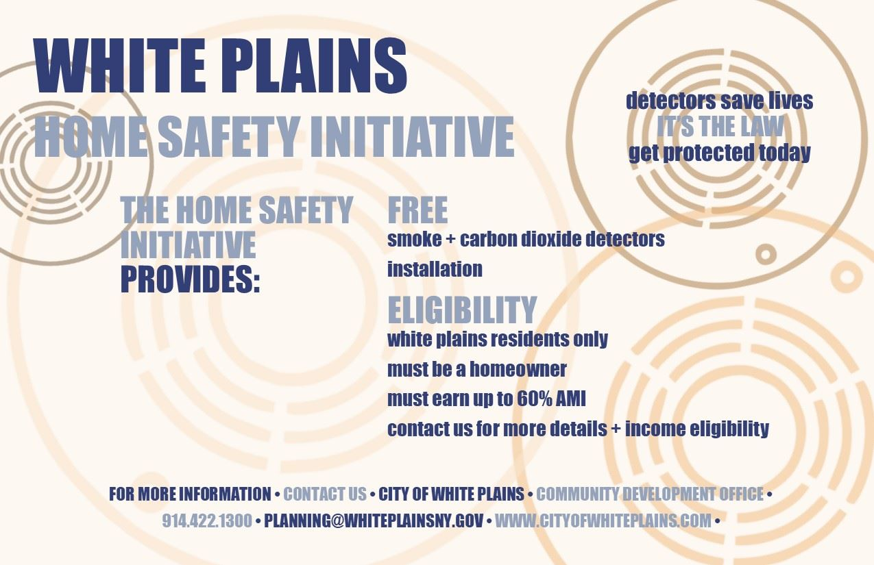 Home Safety Initiative Flyer
