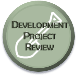Development Project Review Select-able Icon