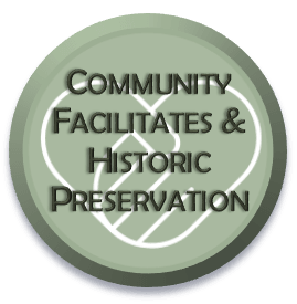 Community Facilities & Historic Preservation Select-able Icon