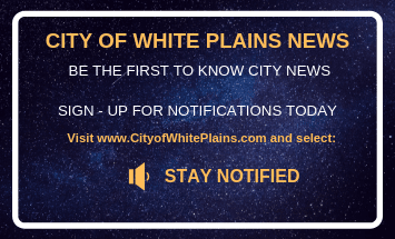 CITY OF WHITE PLAINS STAY NOTIFIED Flyer