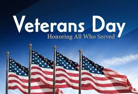 Veterans Day Honoring those who have served