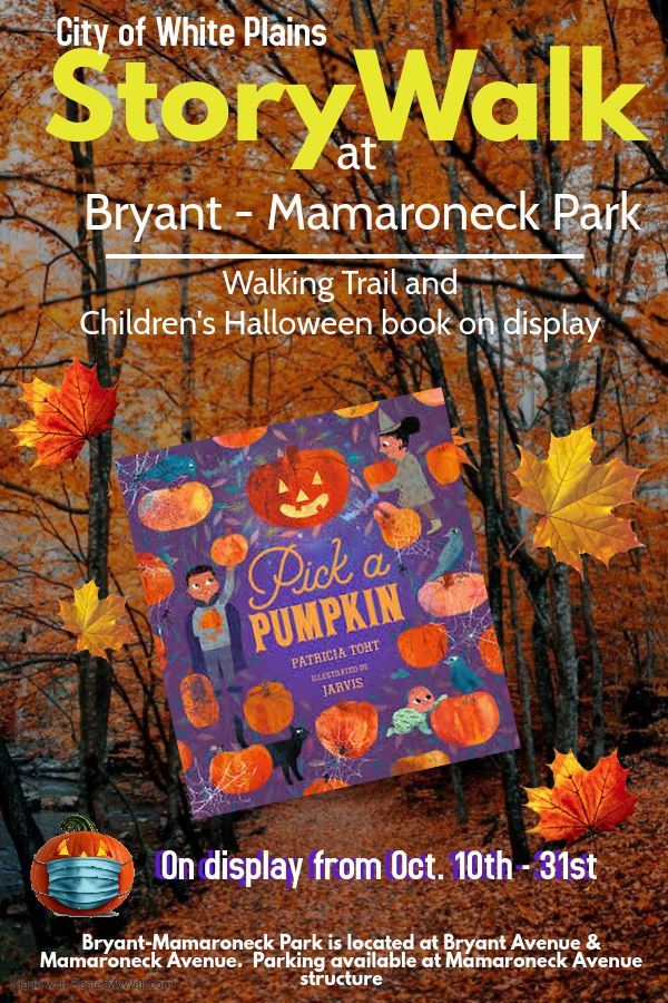 Storywalk Oct 10 through 31 revised poster