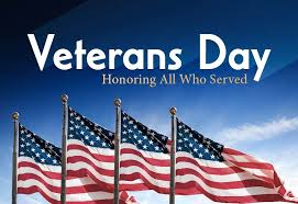 Veterans Day honoring all those who serve