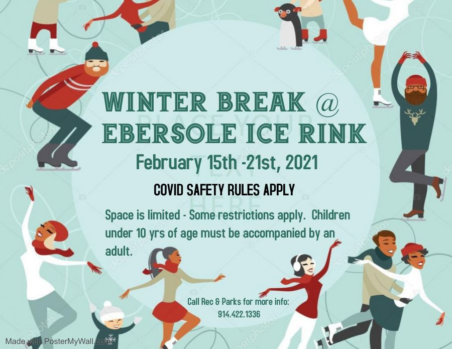 Ebersole Ice Rink Winter Break 2021 FROSty removed