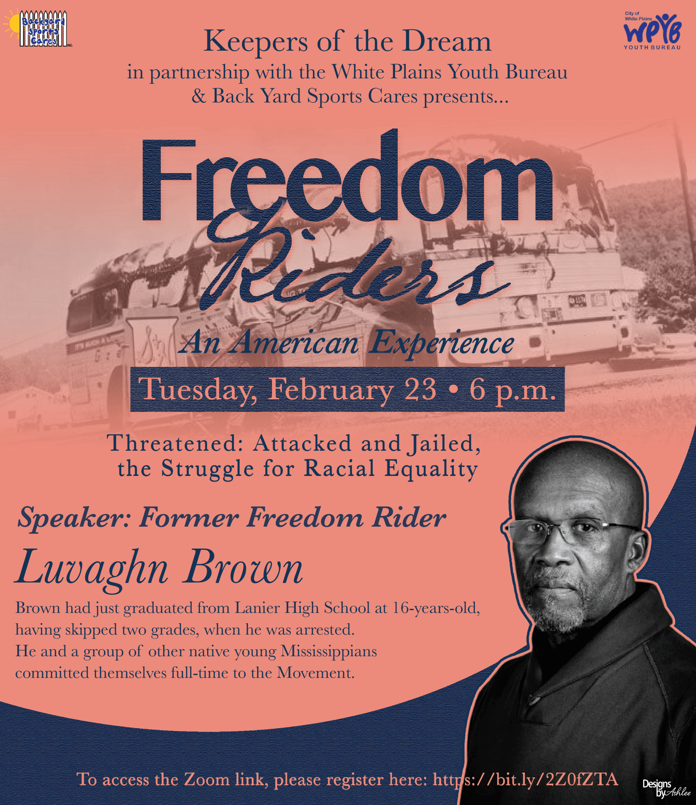 2021 Freedom Riders event February 23rd