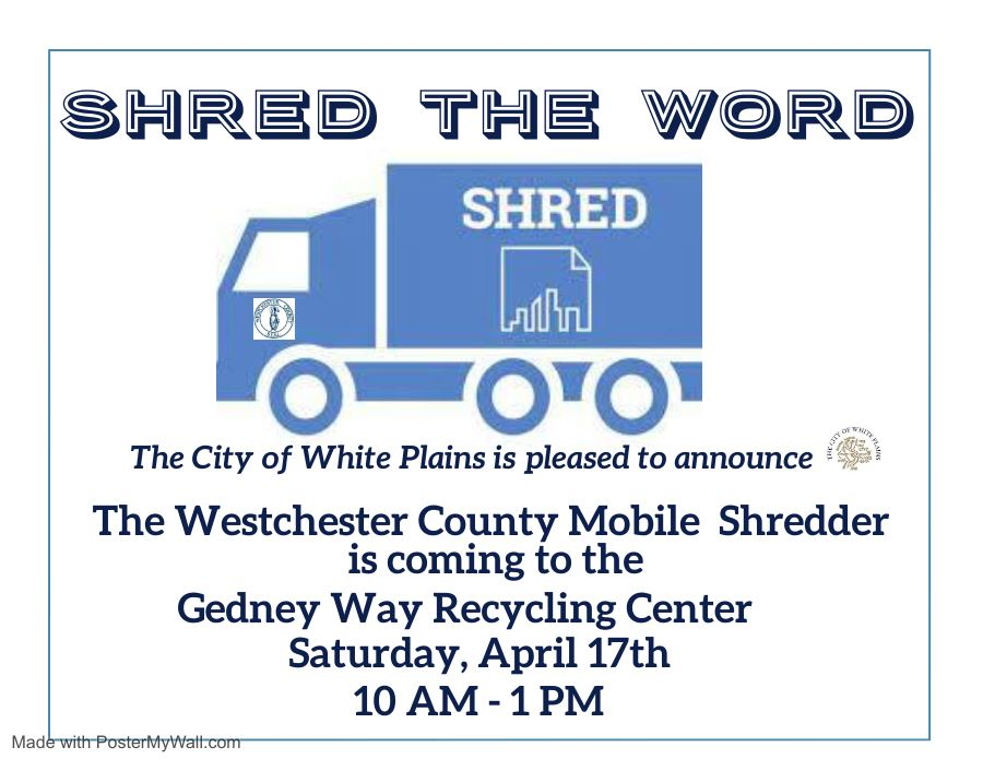 CWP Shred the Word logos in place