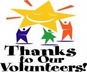 Thank you to Volunteer heroes