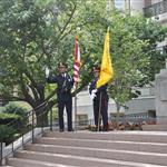 color guard flag day