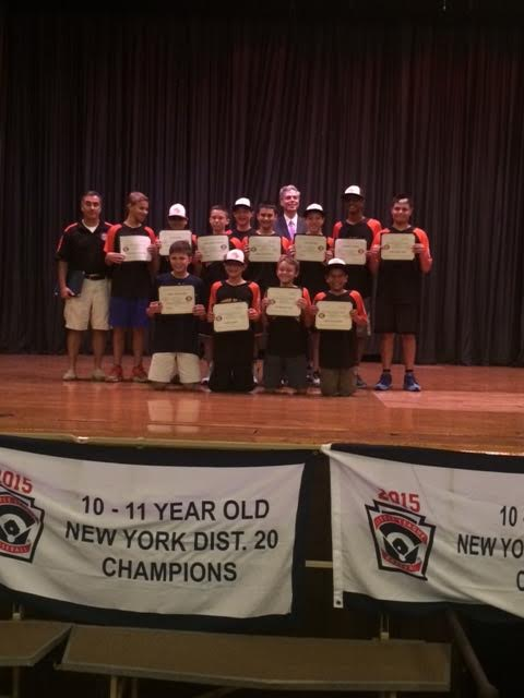 Little League 12 year odl champs 2015