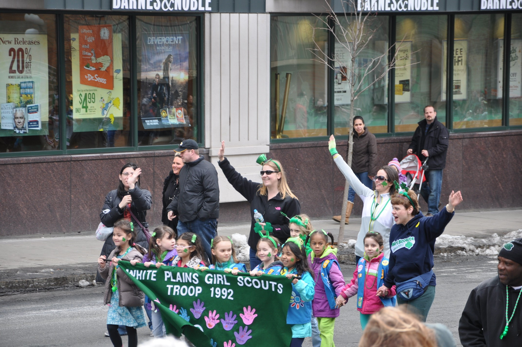 White Plains Girl Scouts