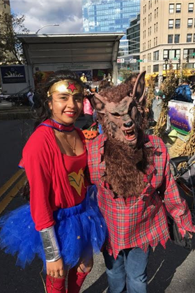 wonder woman and werewolf