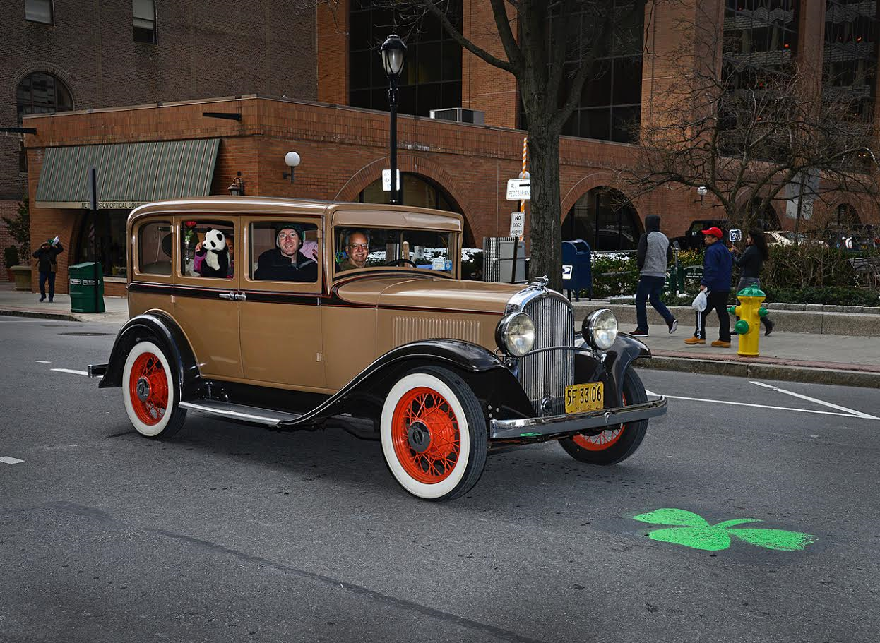2017 St. Patricks Day Parade Classic Cars
