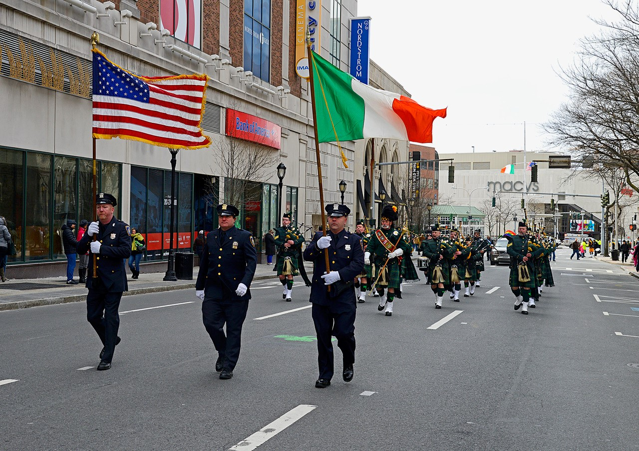 2017 St. Patricks Day Parade Emerald Society