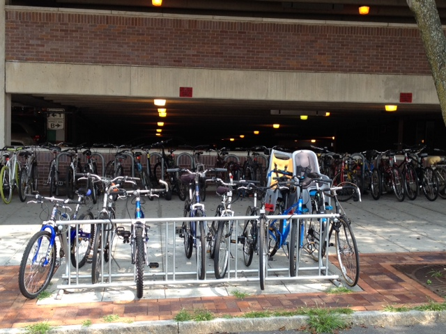Bike Racks Train Station